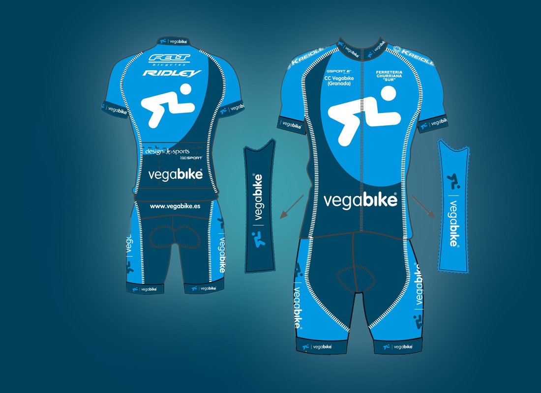 bicicletas-granada-maillot-vegabike-equipo